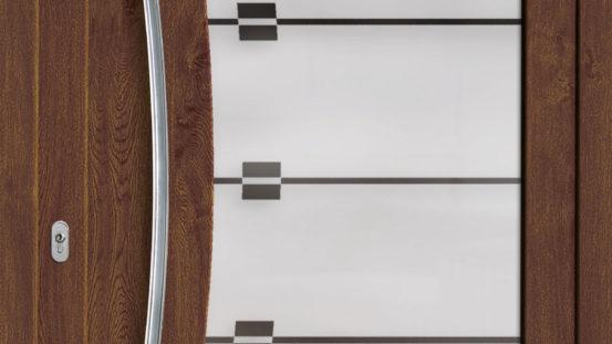 KHT-RB 6914 Dekor Nussbaum, Glas: G 1146